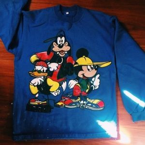 Vintage Mickey Mouse and Friends Disney sweater